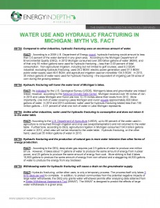 WATER USE AND HYDRAULIC FRACTURING IN MICHIGAN_MYTH VS FACT (2)