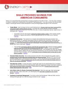 UTICA SHALE PROVIDING SAVINGS FOR AMERICAN CONSUMERS3