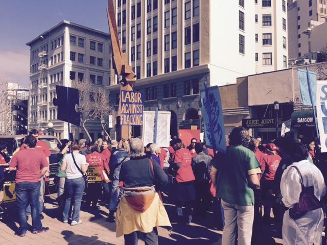labor protest CA