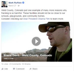 Ruffalo Facebook March 2015
