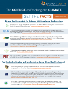 EID_Science of Fracking and CLIMATE 1